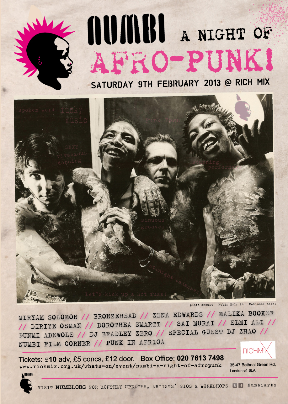 A Night of Afro-Punk! – Saturday 9th February