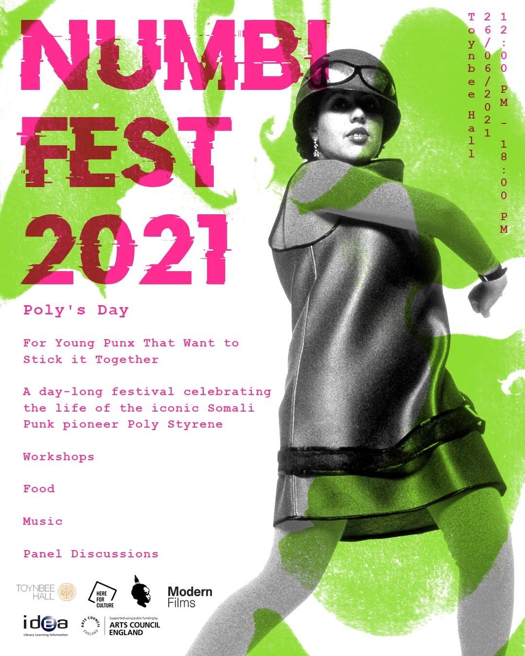 NumbiFest 2021 - Official flyer